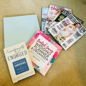 Other - Wedding Planners, Magazines and Book Lot